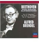 ピアノ・ソナタ第8番『悲愴』、第14番『月光』、第23番『熱情』 アルフレート・ブレンデル(1993,94)【SHM-CD】