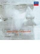 ピアノ作品集~ジムノペディ、グノシエンヌ、他 ジャン=イヴ・ティボーデ【SHM-CD】