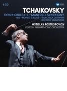交響曲全集、マンフレッド交響曲、管弦楽曲集 ムスティスラフ・ロストロポーヴィチ&ロンドン・フィル、ナショナル交響楽団、他(6CD)【CD】 6枚組