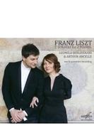 2台ピアノのための編曲集~サン=サーンス:死の舞踏(2種)、リスト:ピアノ・ソナタ、ダンテを読んで リュドミラ・ベルリンスカヤ、アルチュール・アンセル