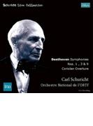 交響曲第3番『英雄』、第9番『合唱』、第1番、序曲『コリオラン』 カール・シューリヒト&フランス国立放送管弦楽団(1959-65年ステレオ)(2CD)【CD】 2枚組