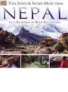 Folk Songs & Sacred Music From Nepal【CD】