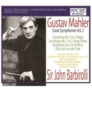 交響曲第4番、第5番、第6番、大地の歌 ジョン・バルビローリ&BBC響、ヒューストン響、ベルリン・フィル、フェリアー、ハーパー、ルイス、他(1952-67)(4CD)【CD】 4枚組