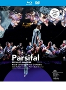 『パルジファル』全曲 オーディ演出、イヴァン・フィッシャー&コンセルトヘボウ管弦楽団、ヴェントリス、シュトルックマン、他(2012 ステレオ)(+DVD)【ブルーレイ】