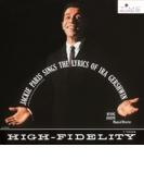 Sings The Lyrics Of Ira Gershwin (Rmt)(Ltd)【CD】