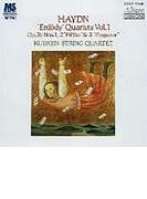 弦楽四重奏曲第75番、第76番『五度』、第77番『皇帝』 クイケン四重奏団【Hi Quality CD】
