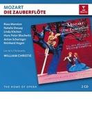 『魔笛』全曲 ウィリアム・クリスティ&レザール・フロリサン、ハンス=ペーター・ブロホヴィッツ、ナタリー・デセイ、他(1995 ステレオ)(2CD)【CD】 2枚組