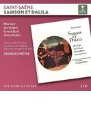 『サムソンとデリラ』全曲 ジョルジュ・プレートル&パリ・オペラ座、リタ・ゴール、ジョン・ヴィッカーズ、他(1962 ステレオ)(2CD)【CD】 2枚組