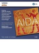 『アイーダ』全曲 ニコラウス・アーノンクール&ウィーン・フィル、ガイヤルド=ドマス、ラ・スコーラ、他(2001 ステレオ)(3CD)【CD】 3枚組