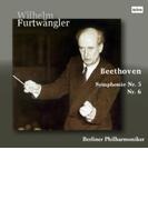 交響曲第5番『運命』、第6番『田園』 ヴィルヘルム・フルトヴェングラー&ベルリン・フィル(1954)【CD】
