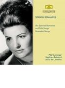 スパニッシュ・ロマンス~スペイン・ルネサンスのバラード、グラナドス:歌曲集 ピラール・ローレンガー、ジークフリート・ベーレント、アリシア・デ・ラローチャ(2CD)【CD】 2枚組