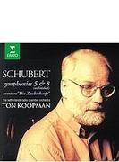 交響曲第8番『未完成』、第5番、『魔法の竪琴』序曲 トン・コープマン&オランダ放送室内管弦楽団