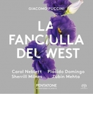 『西部の娘』全曲 ズービン・メータ&コヴェント・ガーデン王立歌劇場、キャロル・ネブレット、プラシド・ドミンゴ、他(1977 ステレオ)(2SACD)【SACD】 2枚組
