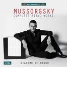 ピアノ作品全集~展覧会の絵、涙、ゴバック、他 ジャコモ・シチナルド(2CD)【CD】 2枚組