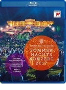 『シェーンブルン夏の夜のコンサート 2017』 クリストフ・エッシェンバッハ&ウィーン・フィル、ルネ・フレミング【ブルーレイ】