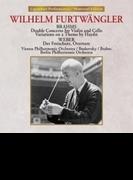 Double Concerto: Boskovsky(Vn) Brabec(Vc) Furtwangler / Vpo +haydn Variations, Weber (Uhqcd)【Hi Quality CD】