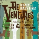 Ventures Legacy Leads Live! Featuring The Guitars Of : Gerry Mcgee And Nokie Edwards【CD】 2枚組