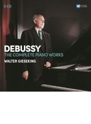 ピアノ作品集 ヴァルター・ギーゼキング(5CD)【CD】 5枚組