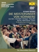 『ニュルンベルクのマイスタージンガー』全曲 シェンク演出、レヴァイン&メトロポリタン歌劇場、ジェイムズ・モリス、マッティラ、他(2001 ステレオ)(2DVD)【DVD】 2枚組