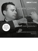 ヴィヴァルディ:四季、モーツァルト:ヴァイオリン協奏曲第5番『トルコ風』 ヘンリク・シェリング、南西ドイツ室内管弦楽団(1969年ステレオ・ライヴ)【CD】
