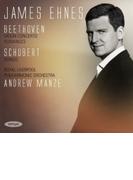 ヴァイオリン協奏曲、ロマンス第1番、第2番、他 ジェイムズ・エーネス、アンドルー・マンゼ&ロイヤル・リヴァプール・フィル【CD】