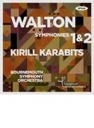 交響曲第1番、第2番 キリル・カラビツ&ボーンマス交響楽団【CD】
