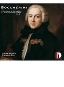 チェンバロとオブリガート・ヴァイオリンのためのソナタ集 ピエール・ゴア(フォルテピアノ)、リアーナ・モスカ(ヴァイオリン)(2CD)【CD】 2枚組