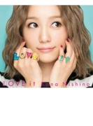 LOVE it 【初回生産限定盤】(CD+DVD+グッズ)【CD】