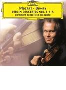 ヴァイオリン協奏曲第3番、第4番、第5番『トルコ風』 オーギュスタン・デュメイ、ザルツブルク・カメラータ・アカデミカ【SHM-CD】