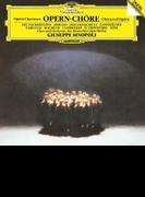 オペラ合唱曲集 ジュゼッペ・シノーポリ&ベルリン・ドイツ・オペラ管弦楽団&合唱団【SHM-CD】