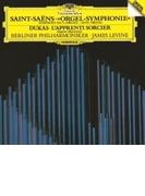 サン=サーンス:交響曲第3番『オルガン付』、デュカス:魔法使いの弟子 ジェイムズ・レヴァイン&ベルリン・フィル、サイモン・プレストン【SHM-CD】