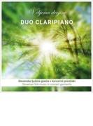 スロヴェニア民謡からインスパイアされたクラリネット作品集 デュオ・クラリピアノ【CD】