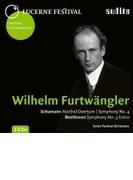 ベートーヴェン:交響曲第3番『英雄』、シューマン:交響曲第4番、『マンフレッド』序曲 ヴィルヘルム・フルトヴェングラー&ルツェルン祝祭管弦楽団(1953)(2CD)【CD】 2枚組