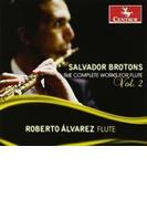Complete Works For Flute Vol.2: R.alvarez(Fl) Etc【CD】