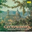 交響曲全集 ヘルベルト・フォン・カラヤン&ベルリン・フィル(2SACD)(シングルレイヤー)【SACD】 2枚組