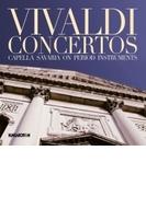 フルート、ヴァイオリン、ファゴットのための協奏曲集 カペラ・サヴァリア【CD】