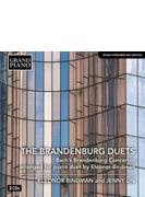 ブランデンブルク協奏曲全6曲(4手ピアノ版) エレオノール・ビンドマン、ジェニー・リン(2CD)