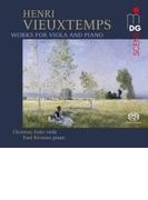 ヴィオラとピアノのための作品集 クリスティアン・オイラー、パウル・リヴィニウス【SACD】