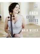 無伴奏チェロ組曲 全曲 マヤ・ウェーバー(2CD)【CD】 2枚組