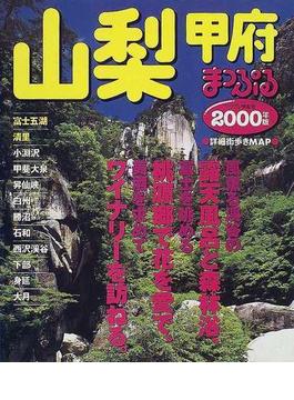 山梨 甲府 富士五湖・清里 2000年版