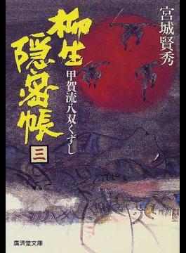 柳生隠密帳 幕府探索方控 3(広済堂文庫)