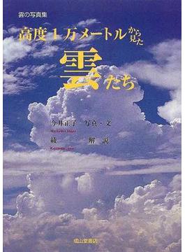 高度1万メートルから見た雲たち
