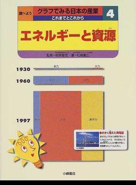 調べようグラフでみる日本の産業これまでとこれから 4 エネルギーと資源