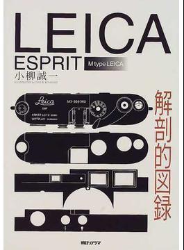 LEICA ESPRIT解剖的図録