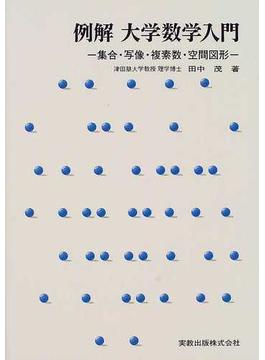 例解大学数学入門 集合・写像・複素数・空間図形