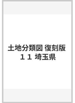 土地分類図 復刻版 11 埼玉県