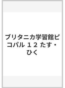 ブリタニカ学習館ピコパル 12 たす・ひく