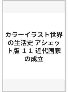 カラーイラスト世界の生活史 アシェット版 11 近代国家の成立