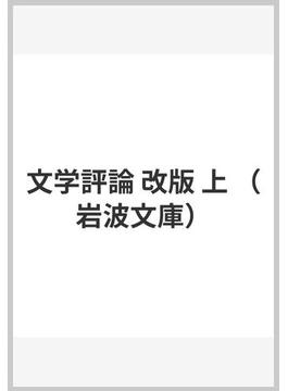 文学評論 改版 上(岩波文庫)