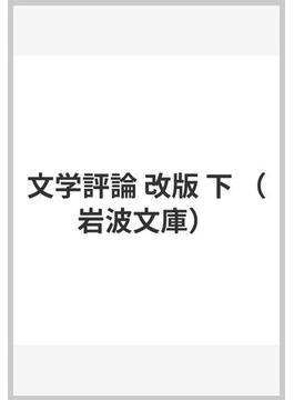 文学評論 改版 下(岩波文庫)